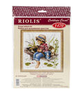 Riolis Let\u0027s Go Fishing Counted Cross Stitch Kit
