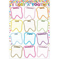 Smart Poly Confetti Classroom Charts 13\u0022x19\u0022 Set of 12