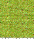 Keepsake Calico Cotton Fabric-Wildflowers Dot Multi Green