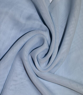 Casa Collection Chiffon Fabric 58''-Icy Blue