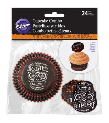 Wilton Cupcake Combo Pack 24/Pkg-Hallows Eve