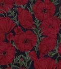 Snuggle Flannel Fabric 42\u0022-Poppy