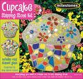 Mosaic Stepping Stone Kit-Cupcake