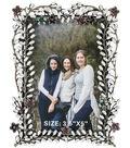 Ultimate Crafts Bohemian Bouquet 3.5\u0027\u0027x5\u0027\u0027 Metal Frame #2-Delicate