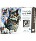 Paintworks Paint by Number Kit-Winter Watch