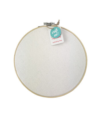 Hello Spring Craft Me 10'' Blank Embroidery Hoop
