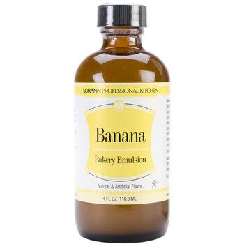 Lorann Oils Bakery Emulsions Natural & Artificial Flavor Banana