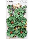 49 And Market Botanical Blends 23 pk Flowers-Bottle Green