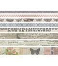 Tim Holtz Idea-Ology Pack of 8 Design Tape-Butterfly