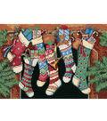 Dimensions 7\u0022x5\u0022 Counted Cross Stitch-The Stockings Were Hung