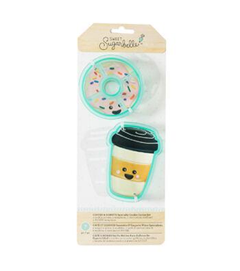 Sweet Sugarbelle 7 pk Cookie Cutters-Coffee & Donut