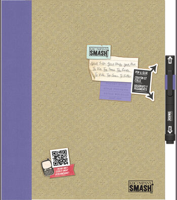 "SMASH Folio 14""X11""-Pretty Pocket"