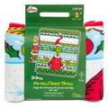 Christmas Dr. Seuss The Grinch No-Sew Fleece Throw-Merry Grinchmas