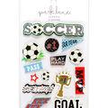 Park Lane 14 pk Stickers-Soccer