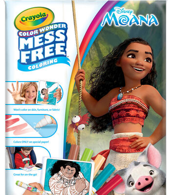Crayola Color Wonder-Moana
