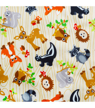Babyville Fabric-Forest Friends