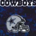 Dallas Cowboys Fleece Fabric -Digital
