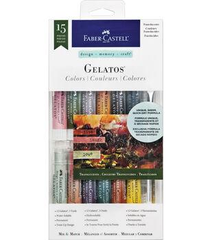 Design Memory Craft Gelatos Colors Kit-Translucents
