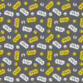 Star Wars No Sew Fleece Throw-Roll With The Droids