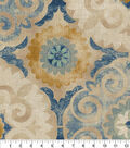 Home Decor 8\u0022x8\u0022 Fabric Swatch-Waverly Captivated Indigo
