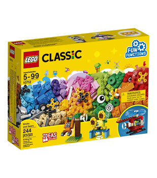 LEGO Classic Bricks & Gears Set