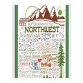 Imaginating 10\u0027\u0027x12\u0027\u0027 Counted Cross Stitch Kit-Let\u0027s Visit the Northwest