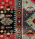 Snuggle Flannel Fabric-Aztec Geo Southwest