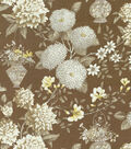 P/K Lifestyles Lightweight Decor Fabric 54\u0022-Lightfoot Garden/Sepia