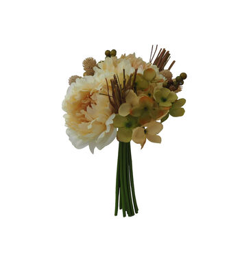 Blooming Autumn Rose, Peony & Berry Bouquet-Netural