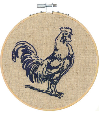 Americana Stitch Kit-Rooster
