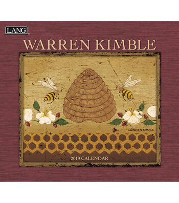 2019 Wall Calendar Warren Kimble