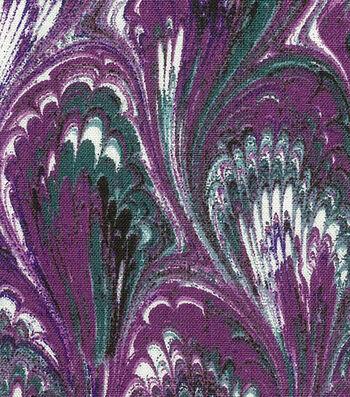 """Premium Wide Cotton Fabric 108""""-Oil Slick Purple"""