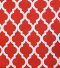 Snuggle Flannel Fabric -Moroccan Poppy Red