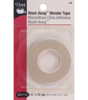 "Dritz 0.25"" x 10Yds Wash Away Wonder Tape"