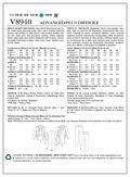 Vogue Patterns Mens Casual-V8940