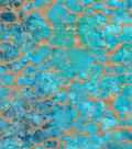 Legacy Studio Batik Fabric 44\u0022-Blue Tonal Spots
