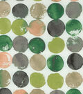 Waverly Upholstery Fabric 54\u0027\u0027-Quartz Watercolor Circles
