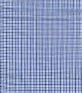 Shirting Fabric 59\u0027\u0027-Blue Checkered