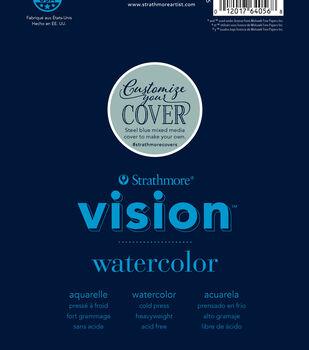 "Strathmore 6""x9"" Vision Watercolor Pad"
