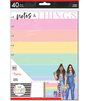 The Happy Planner x Rongrong Classic Paper-Notes Things