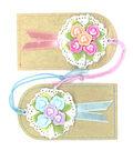 Jolee\u0027s Boutique Parcel Dimensional Embellishments-Bouquet Tags