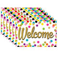 Confetti Welcome Postcards, 30 Per Pack, 6 Packs