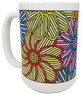 Pretty Twisted Color Your Mug DIY Kit-In Bloom