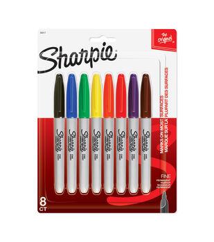 Sharpie 8ct Fine Tip Markers