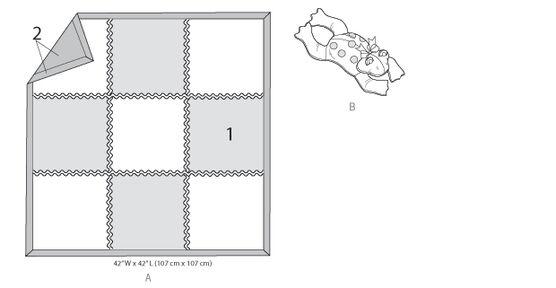 Kwik Sew Crafts Home Accessory K4022, , hi-res, image 1