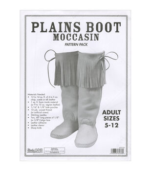 Pattern Pack-Adult Plains Boot Moccasin