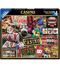 White Mountain Puzzle 550 Pieces 18\u0027\u0027x24\u0027\u0027 Jigsaw Puzzle-Casino