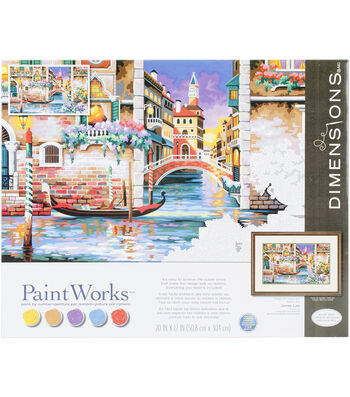 Dimensions Paint Works Paint By Number Kit-Isn't It Romantic