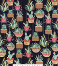 Snuggle Flannel Fabric -Hanging Succulents