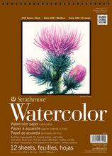 Strathmore 400 Series 12 Sheets 9''x12'' Watercolor Pad, , hi-res